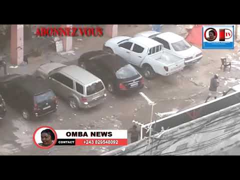 FLASH!! MASASI  EBETI LELO NA KINSHASA INCOMPREHENSION ENTRE LA PNC NA BA VENDEUR AMBULAT TROUBLE