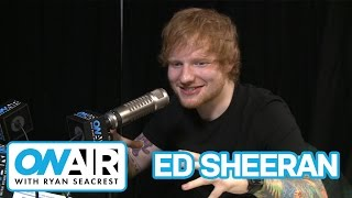Ed Sheeran On Victoria's Secret Fashion Show  | On Air with Ryan Seacrest