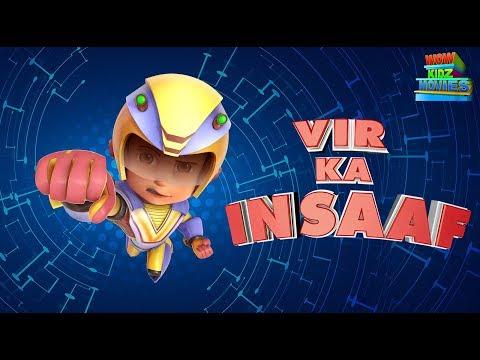 Vir The Robot Boy   Vir Ka Insaaf   Full Movie   Cartoons For Kids   Wow Kidz Movies