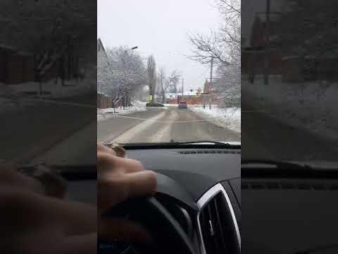 Уникальное видео уборочной техники на дорогах Шахт!