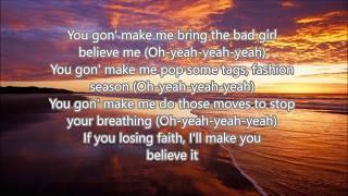 Bebe Rexha - 2 Souls on Fire (feat. Quavo) [Lyric Video]