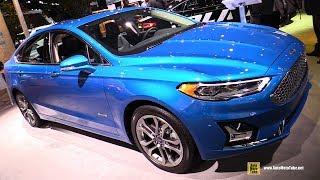 2019 Ford Fusion Hybrid - Exterior and Interior Walkaround - 2018 New York Auto Show