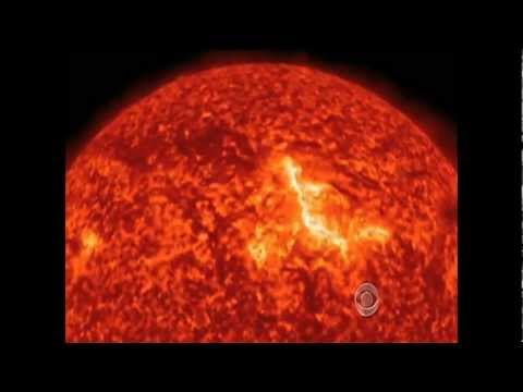 CBS Evening News With Scott Pelley - Solar Flare's Impact On Earth