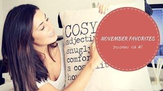 November Favorites | December Video #1