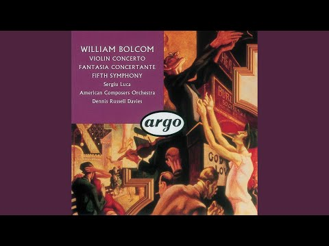 Bolcom: Violin Concerto - 3. Rondo: Finale