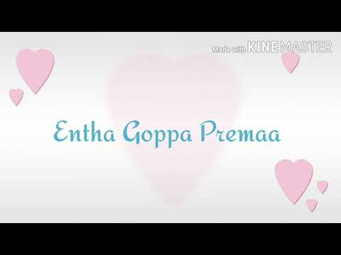 Entha goppa premaa _CSOW_ Covenant School Of Worship