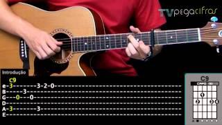 Paula Fernandes - Sensações (Aula de violão) - TV Pega Cifras