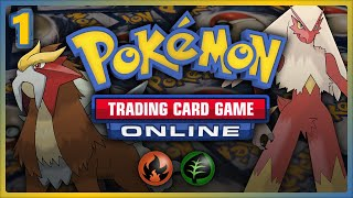 Lets play the Pokemon Trading Card Game Online!!!