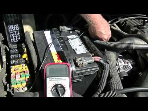 Alternator problems? Do a Fusible link test first
