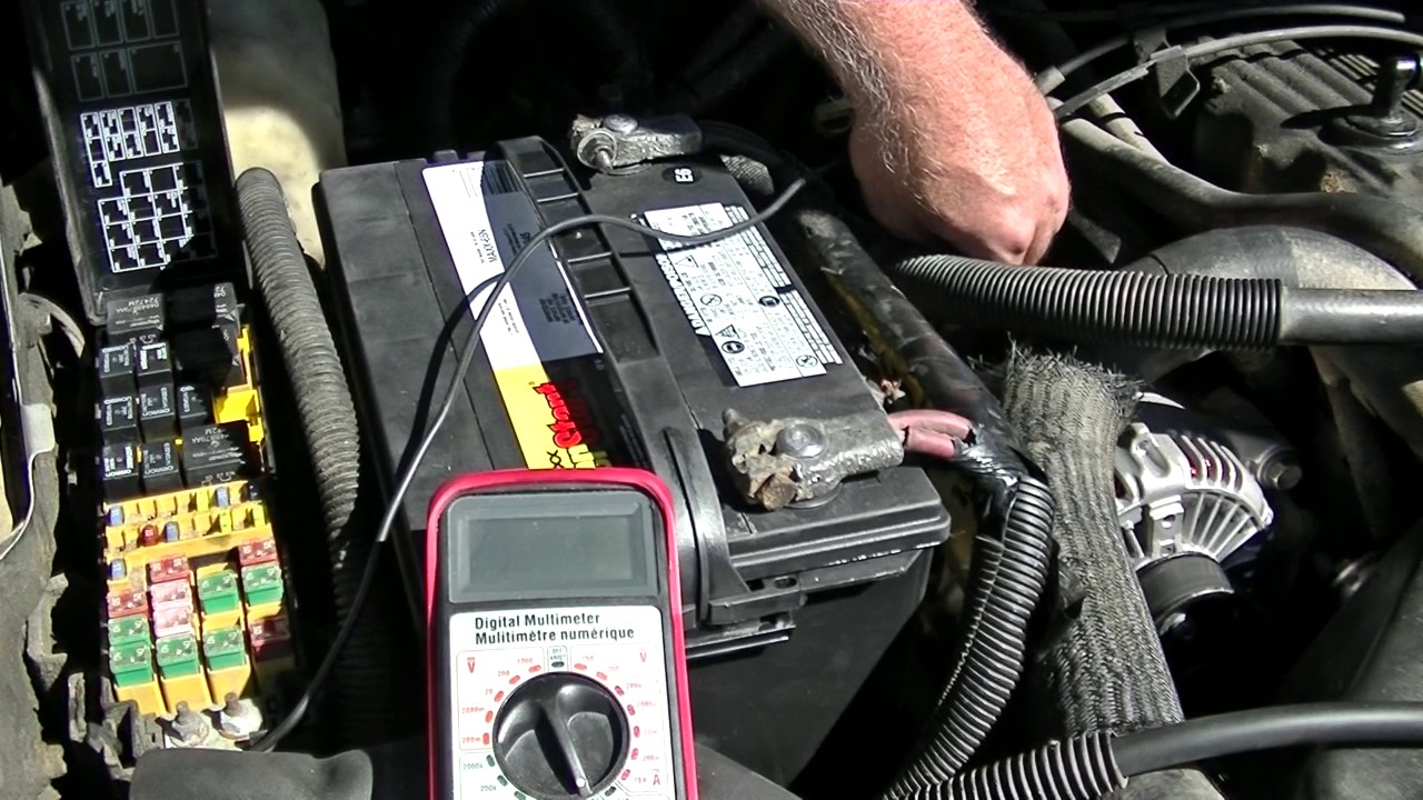2004 Jeep Grand Cherokee Starter Wiring Diagram Car Reverse Light Alternator Problems? Do A Fusible Link Test First - Youtube