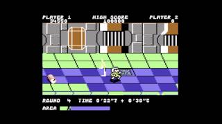 Metro-Cross (C64) - A Playguide and Review - by Lemon64.com