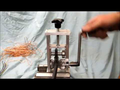 Станок для разделки кабеля