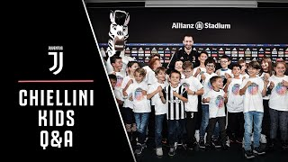 QUESTIONS FOR CHIELLINI | Junior Members ask the questions we wish we could ask! 👀