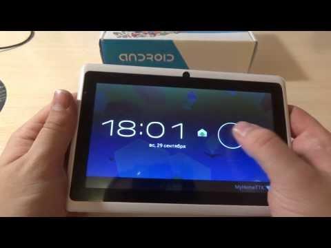 Нов модел таблет -7 Android 4.2 1GB RAM, две камери 19