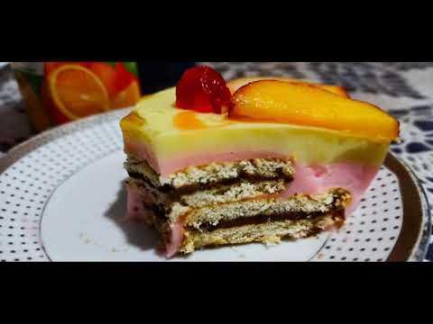 délicieux-gâteau-dessert-à-partir-d'ingrédients-simple-sans-cuisson-‼️-👌😋😋😋