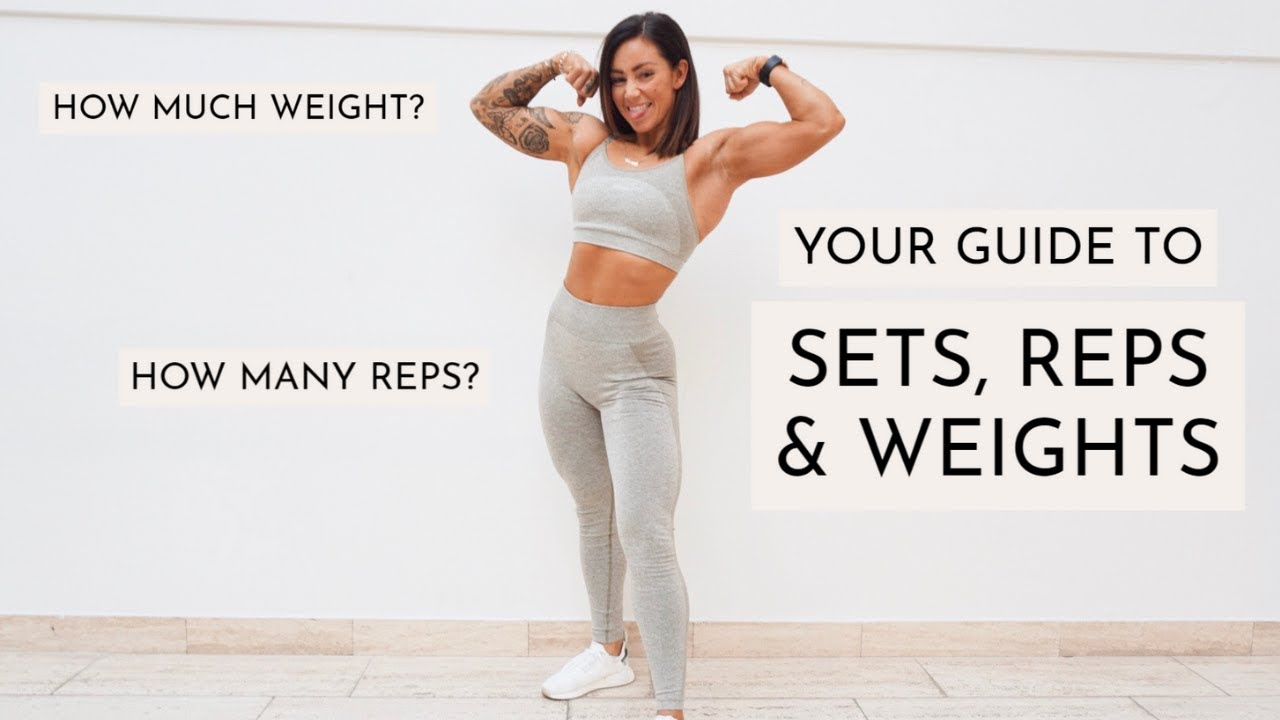 SETS, REPS & WEIGHTS? I GOT YOUR BACK! THE ADVICE THAT CHANGED MY TRAINING