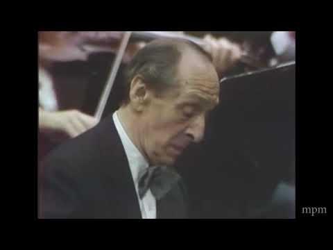 Vladimir Horowitz Plays Rachmaninoff Piano Concerto No 3 In D Minor Op.30
