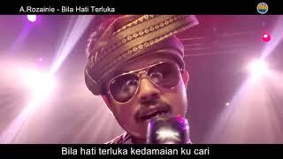 Bila Hati Terluka - A.Rozainie (Official Music Video) Lagu Baru
