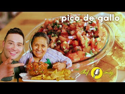 Pico de Gallo Recipe // Chef Andy