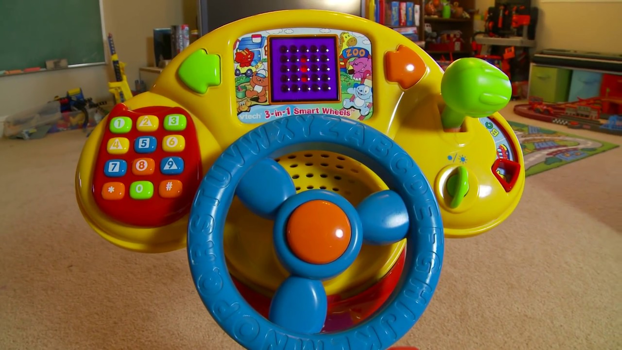 Vtech 3 in 1 smart wheels ride on toy full demo youtube for Bureau vtech 3 en 1