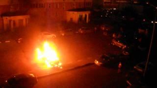 Поджог автомобиля BMW Балашиха 20.06.2012 г.
