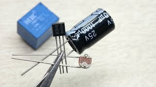 DIY Make 2 Awesome circuit with BC548 & 12v Relay