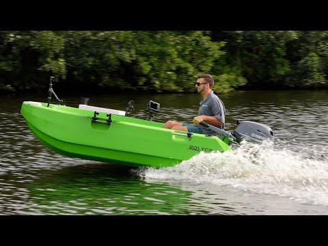 Ultra Cheap light weight plastic Boat Polycraft  300 Tuffy (walkthrough)