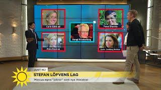 """Här är Marcus ministerfavoriter: """"Löfven måste våga!"""" - Nyhetsmorgon (TV4)"""