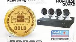 HOMEGUARD HEAT-SENSING CCTV 8CH/4CAM/1TB ( HGDVK84404-1 )
