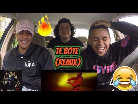 Te Bote Remix - Casper, Nio García, Darell, Nicky Jam, Bad Bunny, Ozuna | REACTION REVIEW
