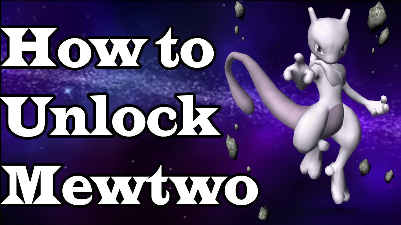 Super Smash Bros Melee How to Unlock Mewtwo  YouTube