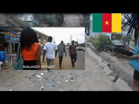 Cameroon vlog 2 // Walking through Crazy, broken streets