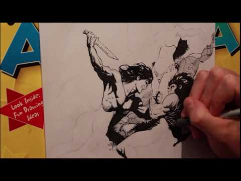 Mark Schultz Ink Study / Discussion with Bamesy