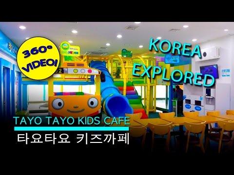 Tayo Tayo Kids Cafe 360 Video - 타요타요 키즈까페