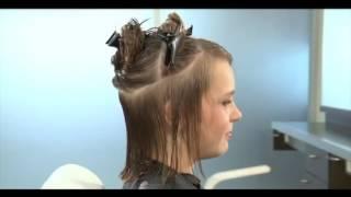 Стрижка каскад с укладкой на длинные и короткие волосы