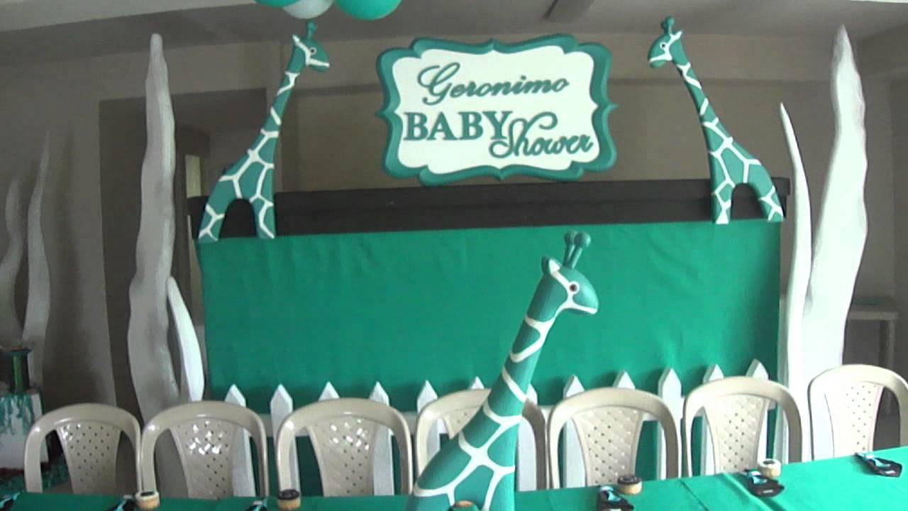 FIESTA TEMATICA-ICOPOR-BABY SHOWER JERONOMO-DIC .18-2011 ...