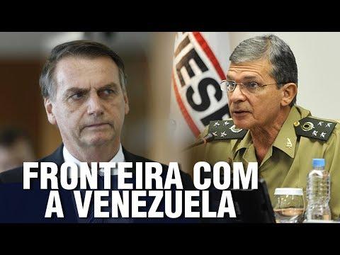 URGENTE: Últimas notícias da fronteira entre Brasil e Venezuela e posse de General na Itaipu..