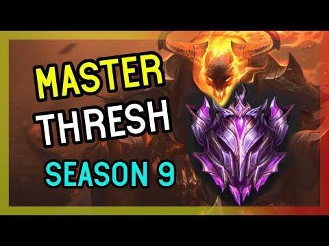 MASTER SEASON 9 - THRESH SUPPORT - League of Legends thumbnail