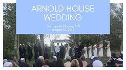 Arnold House Wedding, Livingston Manor, NY for Kim & Tom