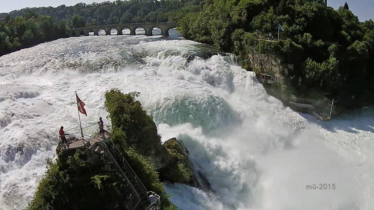 Fall Hd Wallpaper Pictures Rheinfall Rhine Falls Neuhausen Schaffhausen Mit