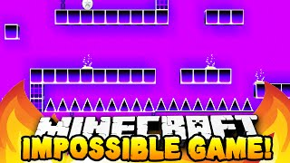 Minecraft - THE IMPOSSIBLE GAME! (Geometry Dash!) - w/ Preston