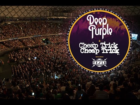 Deep Purple, Cheap Trick & Tesla | Santiago, Chile - 08/12/2017 | Solid Rock Festival