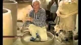 Как пекут настоящий хлеб шоти в Грузии