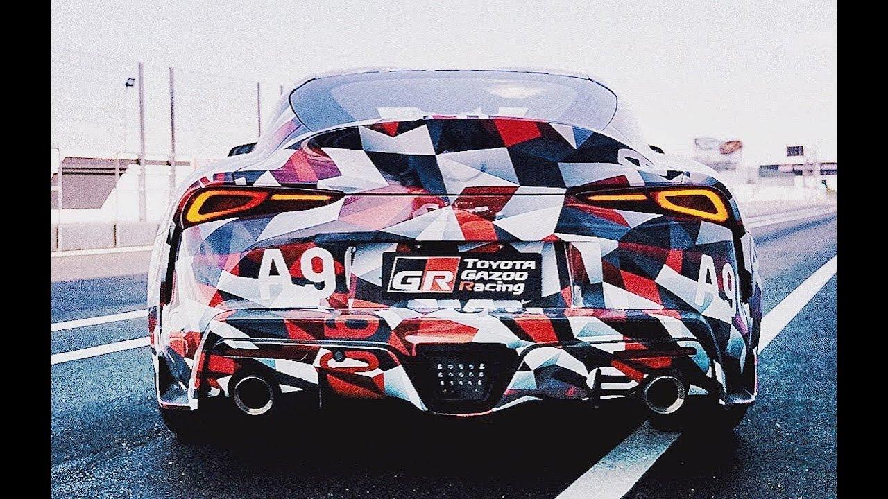 NEW Toyota Supra - First Drive, Exhaust, Design, Interior... FULL ...