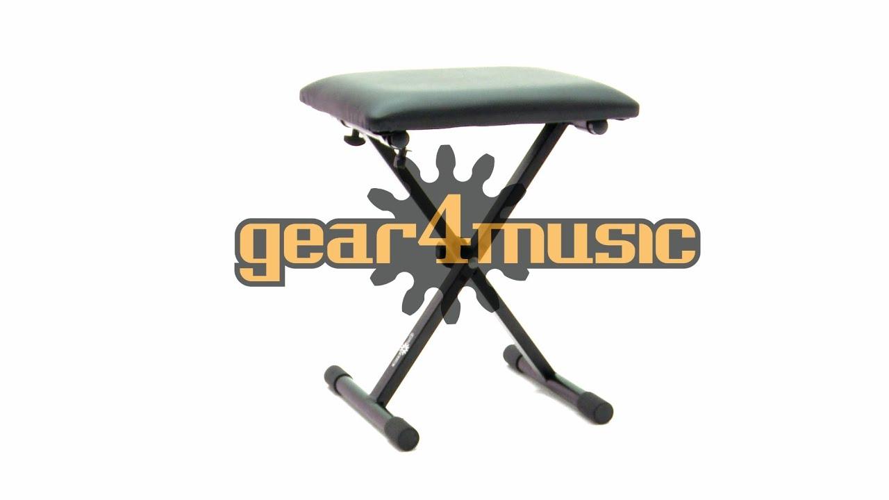 Adjustable Keyboard / Piano Bench by Gear4music  sc 1 st  YouTube & Adjustable Keyboard / Piano Bench by Gear4music - YouTube islam-shia.org