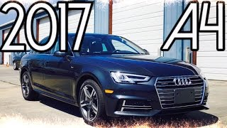 2017 audi a4 prestige s line 2 0t full review start up exhaust