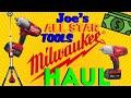 Joe's All Star Tools: HUGE Milwaukee Tool Haul