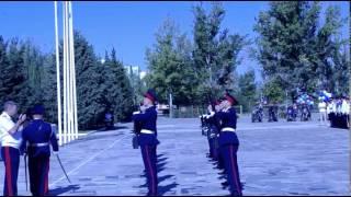 Ночные волки 1 сентября в кадетском казачим корпусе им К. И.  НЕДОРУБОВА 2015