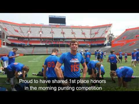 Florida Kicking Camp 2016 William Przystup class of 2018
