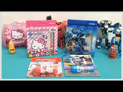 tobot-hello-kitty-larva-band-lipstick-toy-unboxing-review